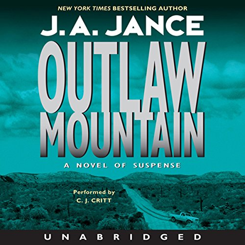 Outlaw Mountain audiobook cover art