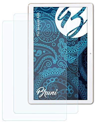 Bruni Schutzfolie kompatibel mit Acepad A96 Folie, glasklare Displayschutzfolie (2X)