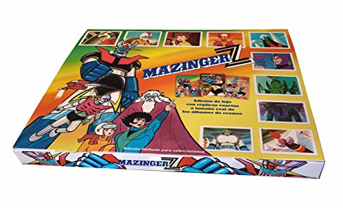 Mazinger Z. Caja exclusiva de cromos