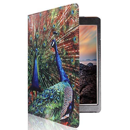 Ipad 4th Generation Folio Case, ipad 2/3 /4 Gen 9.7 inch Model md510ll/A mc769ll /A mc769ll /A mc979ll /A mc769ll /A mc705ll /A mc770ll/A A1397 A1395 A1458 A1430 A1416 Case (Peacock Designs case)
