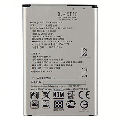 Ellenne Batería compatible con LG BL-45F1F K8 K4 2017 -K9 LM-X210EM 2500MAH