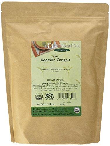 Davidson's Tea Bulk, Keemun Congou, 1 lbs