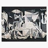 TTbaoz Puzzles 1000 Piezas - Pablo Picasso Guernica - Rompecabezas de Papel Rompecabezas Educativo Juguetes Regalo para Adultos y niños Desafío