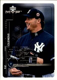 1999 Upper Deck MVP #144 Roger Clemens MLB Baseball Trading Card