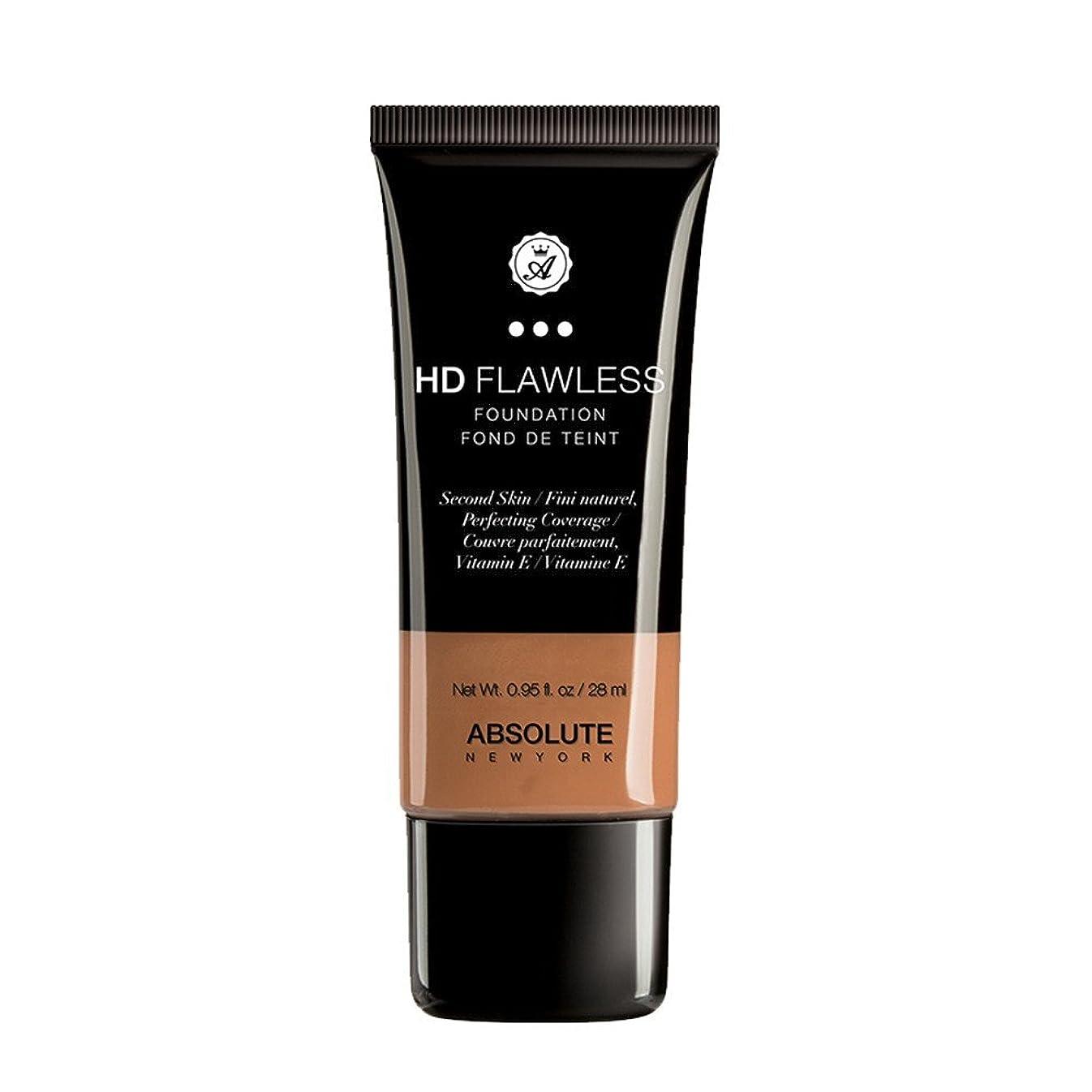 平凡陸軍必須(3 Pack) ABSOLUTE HD Flawless Fluid Foundation - Almond (並行輸入品)