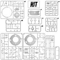 プラスチックモデルタンクキット – WW2モデル – 1/35スケール – 第二次世界大戦タンクモデル クゲルパンザー –