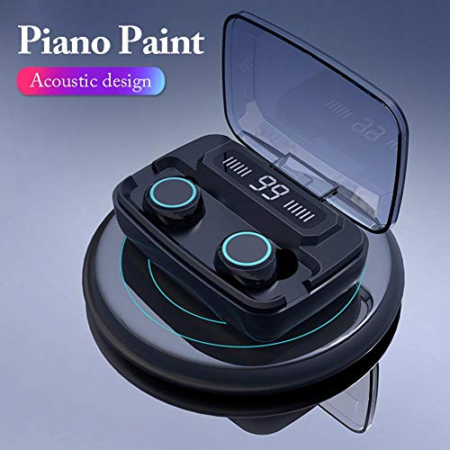 vogueyouth Auriculares M11 TWS Bluetooth 5.0, Auriculares inalámbricos a Prueba de Agua IPX7...
