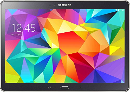 Samsung Galaxy Tab S T800 26,6 cm (10,5 Zoll) Tablet-PC (5GHz, 16GB interner Speicher, WiFi, Bluetooth 4.0, USB 2.0, CMOS 8 MP) dunkel grau