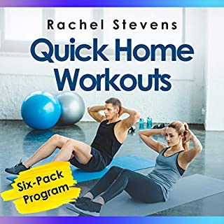 Quick Home Workouts audiobook cover art