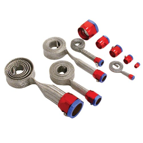 Spectre Performance 7490 Red/Blue Stainless Steel Sleeving Kit