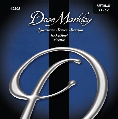 Dean Markley 2505 Medium Signature Series Cuerdas para guitarra eléctrica (0,11-0,52) 6...