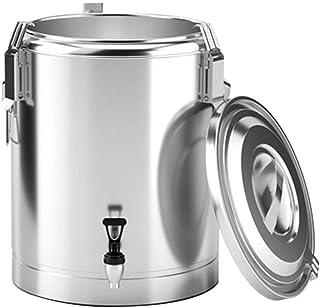 Distributeur d'eau chaude avec robinet, grande urne à café isotherme, seau à thé pour fêtes et buffets, garde les boissons...