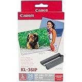 Canon KL-36IP カラーインク/ペーパーセット (Lサイズ36枚分)