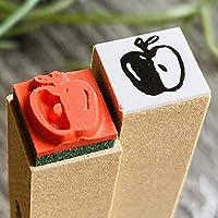 【りんご】スケジュールはんこ*10㎜角