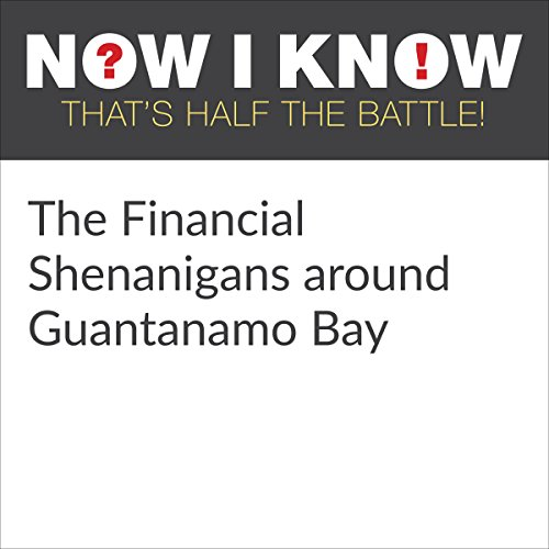 The Financial Shenanigans around Guantanamo Bay audiobook cover art