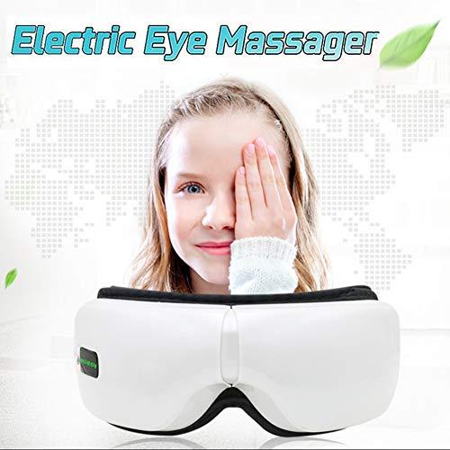 Preisvergleich Produktbild FLK-GBR Weihnachts Elektrisches Augenmassagegerät SPA mit Heizung beweglicher Erschütterungs-Augen-Massage-Luftdru... Music Massage Augenpflege