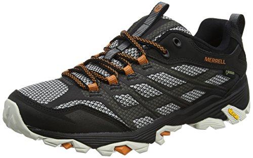 Merrell Men's Moab Fst Gtx Low Rise Hiking Boots, Black (Black), 8 UK (42 EU)