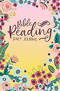 Bible Reading Daily Journal: A JW Bible Reading Workbook full of Guided Prompts. Perfect JW Study Notebook for JW Pioneer Gifts, and JW Baptism Gifts!