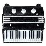 Xigeapg Miniatur Akkordeon Musikinstrument Akkordeon Modell Wohnkultur Musik Geschenke (4X5Cm)