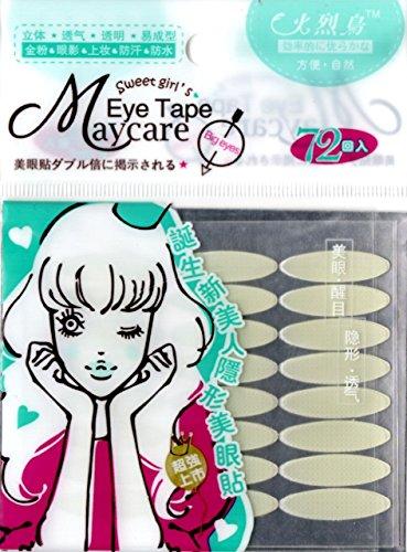 Schlupflid-Augenlid-Lifting \'breit\' stripes.Double Eyelid 144 Streifen Tape