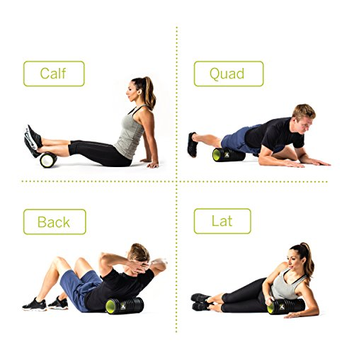 Trigger Point Foamroller Grid, Black, 33 x 14 cm, 3700006350013 - 5