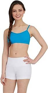 Women's Capezio Gusset Shorts White L