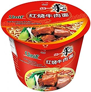 Unif Bowl Instant Noodles, Artificial Roasted Beef,3.88 Ounce