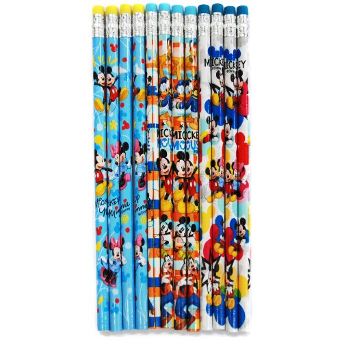 Disney Mickey and Minnie Pencils 12