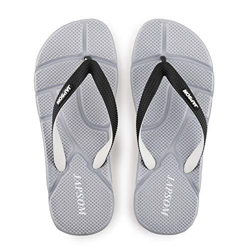 GYCZC Chanclas De Hombre Sandalias Zapatillas De Playa Al Aire Libre Eva Masaje Zapatillas De Interior Tendencia Zapatos Casuales