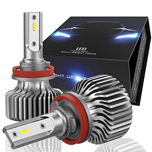 NUVISION LIGHTING Nuvision Par 9005 HB3 Bombillas 20000 lúmenes 200 W LED Faro alto/bajo haz de luz…
