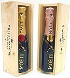 Moët & Chandon Brut & Rose Champagne Mini Moët Duo 2 x