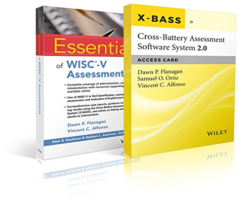 Essentials of WISC-V Assessment with Cross-Battery Assessment Software System 2.0 (X-BASS 2.0) Access Card Set (Essentia