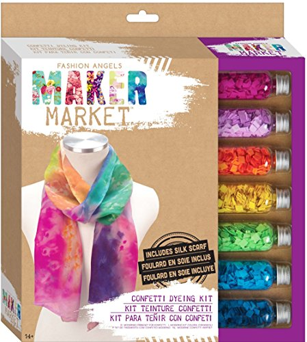 Fashion Angels Enterprises Maker Market Confetti Dying Kit