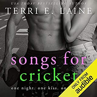 Songs for Cricket                   By:                                                                                                                                 Terri E. Laine                               Narrated by:                                                                                                                                 Teri Schnaubelt,                                                                                        Zachary Webber                      Length: 7 hrs and 41 mins     12 ratings     Overall 4.6