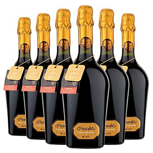 6 bt x 0,750 l - Emilia IGT Nero di Lambrusco Otello Cantine Ceci - Vino tinto de Italia