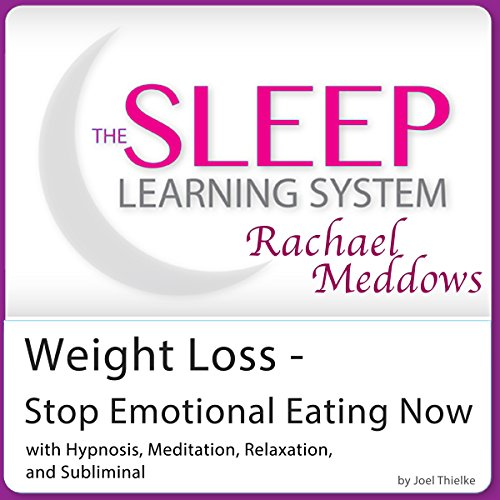 Weight Loss - Stop Emotional Eating Now audiobook cover art