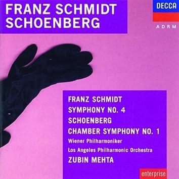 Schmidt: Symphony No.4 / Schoenberg: Chamber Symphony