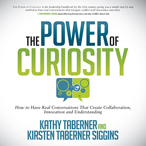 The Power of Curiosity audiobook cover art