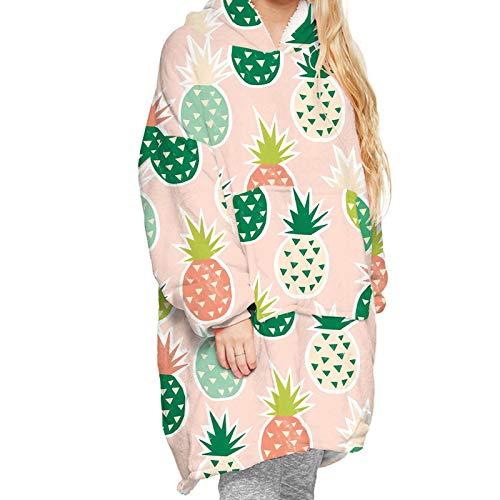 Manta con capucha y capucha, diseño casual y casual para el hogar o para la televisión, regalo para su manta con capucha, estilo pareja