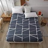 HAIBA Sábana bajera ajustable para cama con somier, 100 % algodón, suave, fácil de limpiar, resistente a las arrugas y transpirable, se adapta perfectamente a tu colchón, 180 x 200 cm + 28 cm