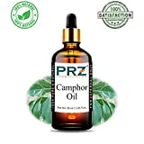 PRZ Camphor Essential Oil - Pure Natural Therapeutic Grade Oil Therapeutic Grade Oil for Skin Care & Hair Care, 30 ml