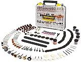 POPOMAN, 313 utensili rotanti, per utensili da taglio, smerigliatura, levigatura, affilatura, scultura e lucidatura per smerigliatrice elettrica