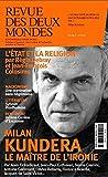 Revue des Deux Mondes Mars 2020 - Milan Kundera