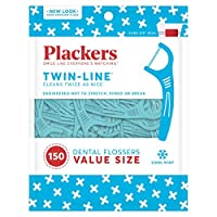 Plackers Twin-Line Dental Flossers by Plackers