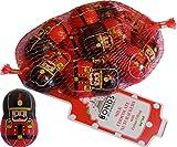 Bonds of London Schokoladen-Nussknacker-Netz aus mit Weihnachtscreme gefüllten Pralinen (3 im Lieferumfang enthalten)