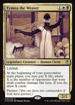 Magic The Gathering - Tymna The Weaver (048/351) - Commander 2016 - Foil