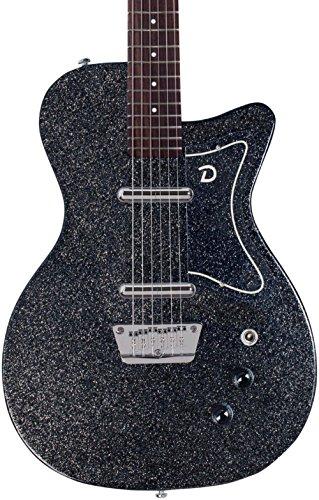 Danelectro 56 Baritone Black Metalflake