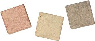 Rayher 1453231mosaïque en céramique carrelage 1x 1cm unlasiert 1300mm carreaux de mosaïque - 800 g