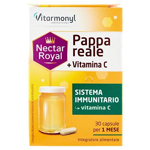 Vitarmonyl Nectar Royal Pappa Reale + Vitamina C, 30 Capsule