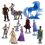 Genuine, Original, Authentic Disney Store Set includes: Anna, Elsa, Kristoff, Sven, Olaf, The Nokk. Mattia, and Yelena Ages 3+ Plastic / man-made materials Figures up to 4 1/2'' H